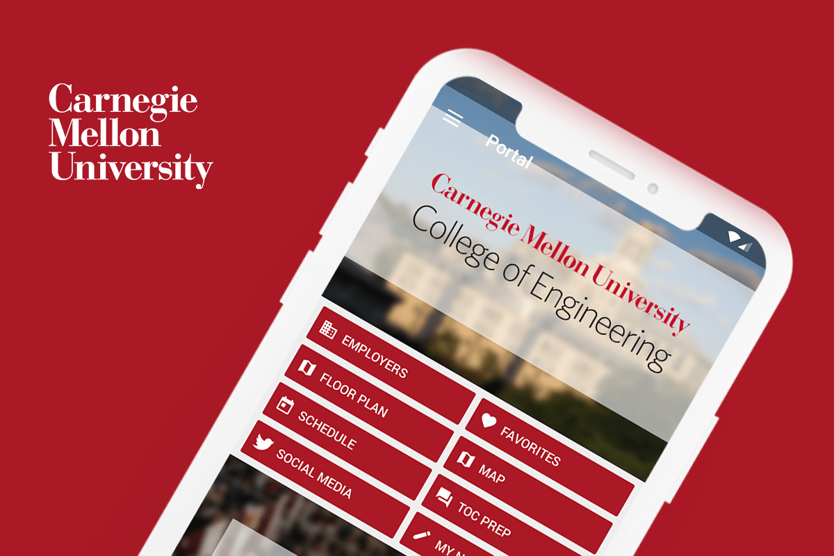 Eventus App for Carnegie Mellon University's Technical Opportunities Conference