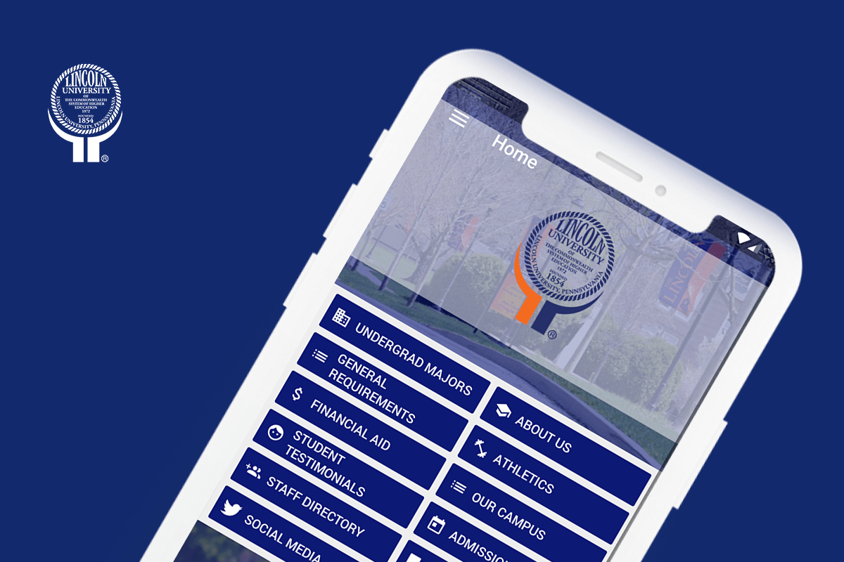 Eventus App for Lincoln University Admissions