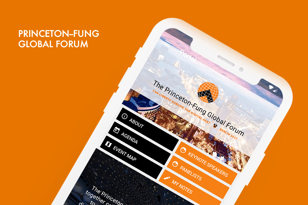 Eventus App for Princeton University's Fung Global Forum