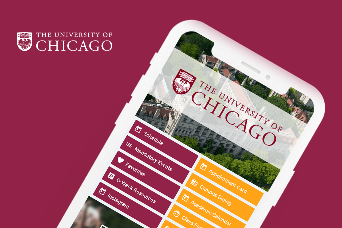 Eventus App for University of Chicago's Orientation